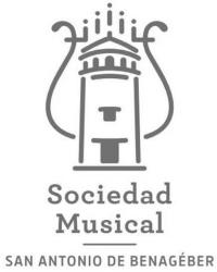 logotipo sociedad musical san antonio de benageber